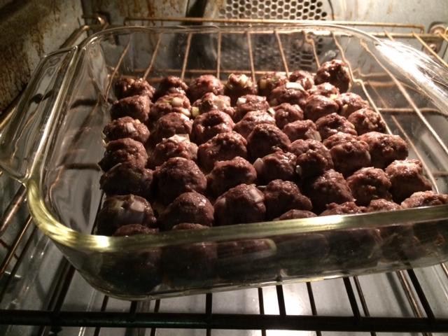Gluten-Free Egg-Free Lamb Mini-Meatballs