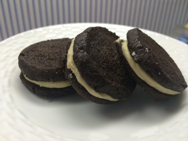 Gluten-Free Soy-Free Vegan Kosher Chocolate Sandwich Cookies