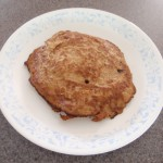 Easy six ingredient gluten-free dairy-free corn-free soy-free apple cinnamon pancakes!