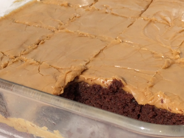 Easy Gluten-Free Vegan Mocha Brownies with Coffee Icing
