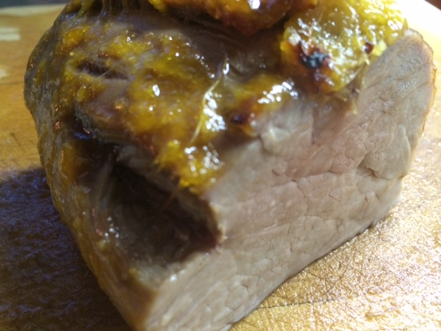 Soy-Free Low-Salicylate Mango Ginger Pork Tenderloin